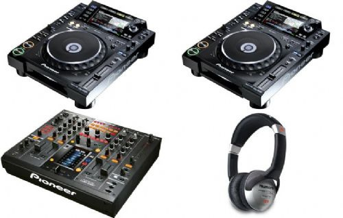 2 x PIONEER CDJ-2000 Nexus and 1 x DJM-2000 Nexus DJ MIXER    for just  $3400USD - объявления Ri.kz